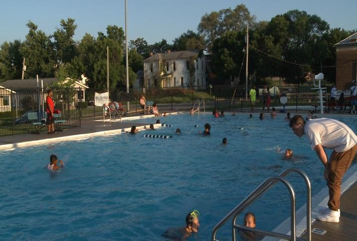 The final family swim night of the season took place on Thursday.