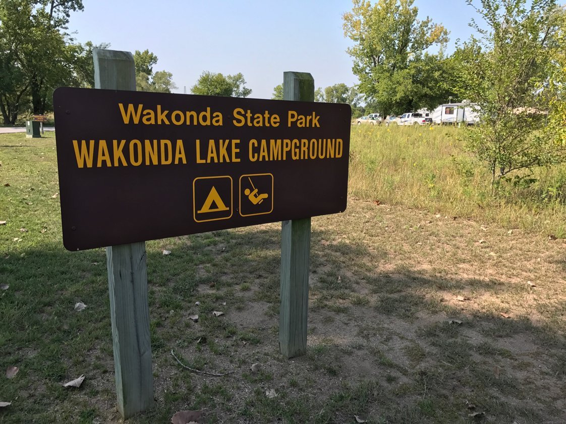 Wakonda State Park Campground