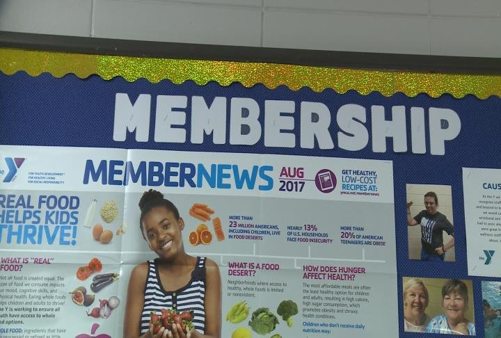 New members who donate will get a month free.