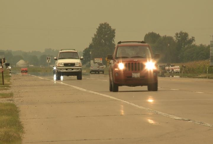 Many drivers took to the road this past weekend.