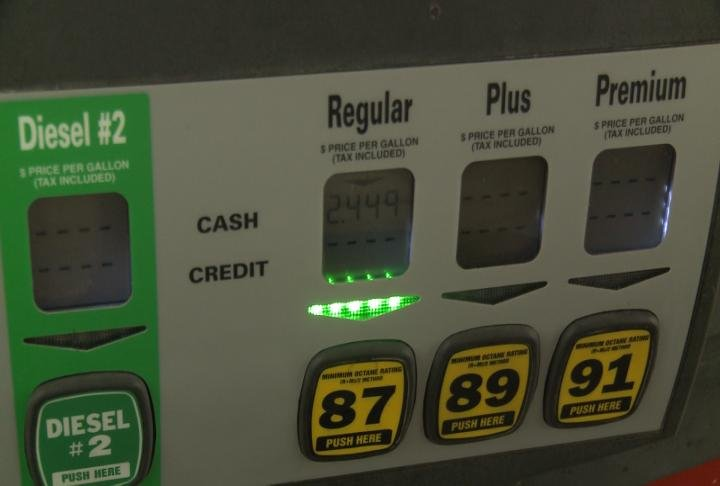 Out of town drivers were surprised by lower gas prices.