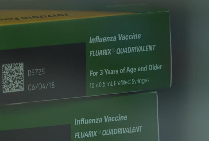 Box of flu shots