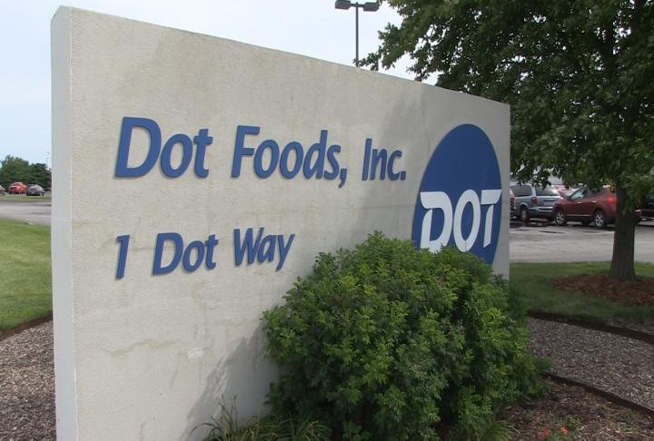 Dot Foods in Mount Sterling, Illinois.
