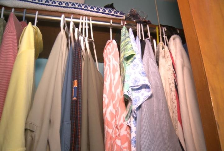 Clothes that were donated to the File's