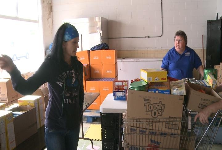 Stroud said she was getting food for her friend that was going through chemo.