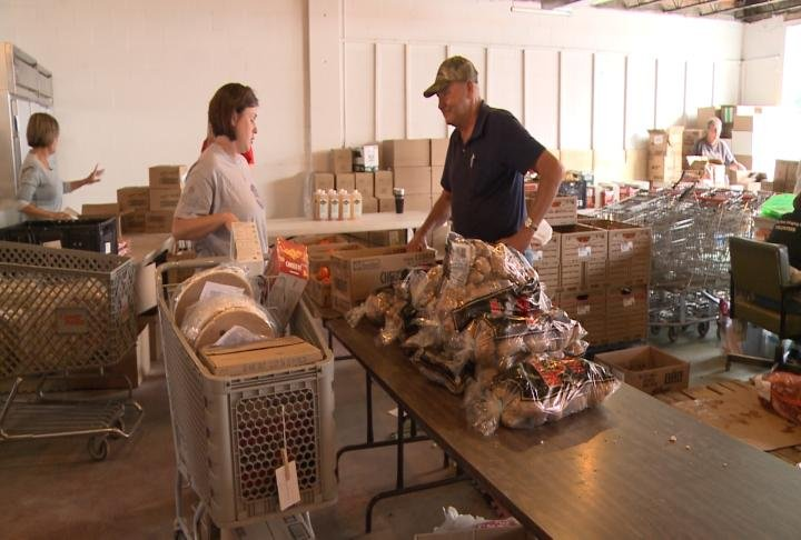 The pantry is operated as a non-profit.