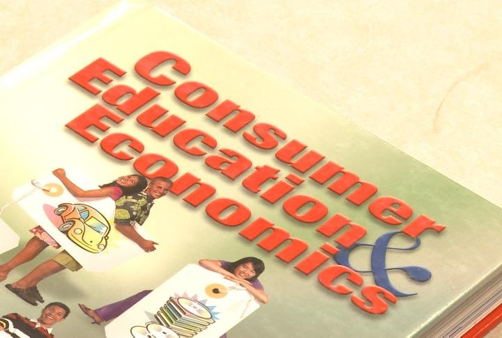 Consumer Ed is now mandatory for all high school students.