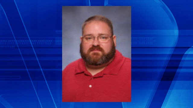 Photo of McClusky on the Monroe City School District website where he is listed as a paraprofessional.