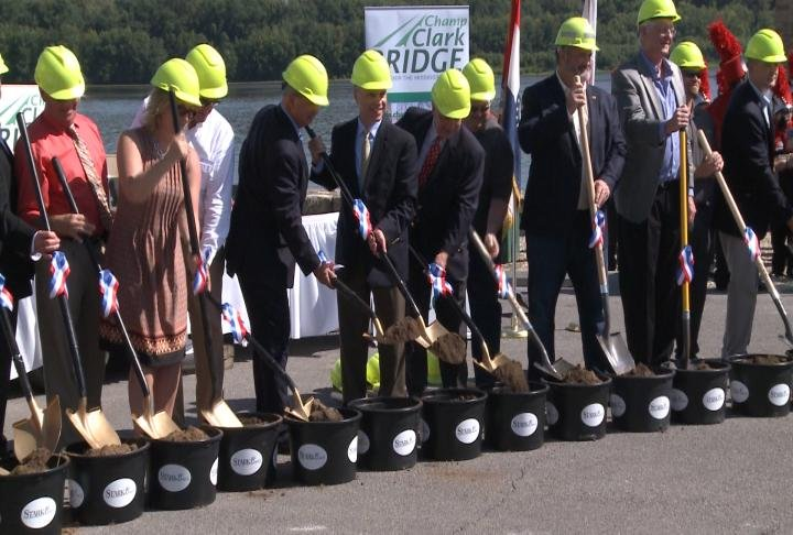 The groundbreaking ceremony took place on Friday.