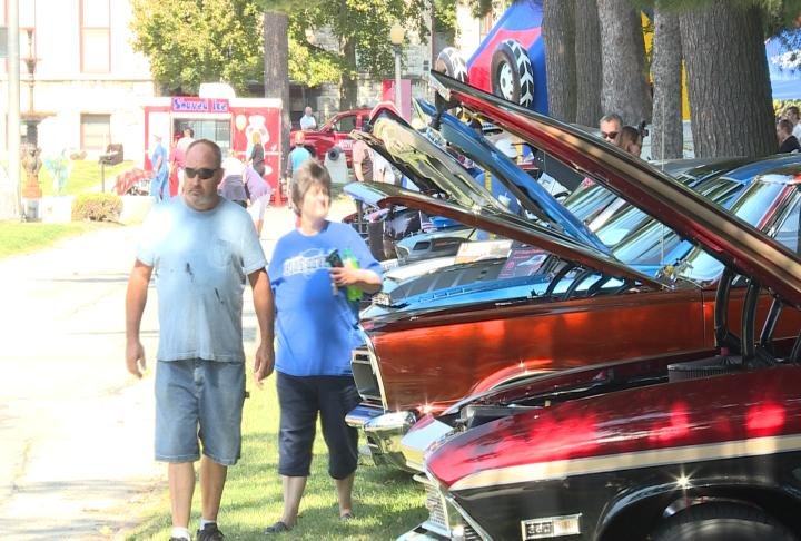 Over 250 cars were in this years show