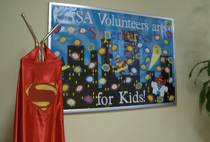 Bulletin board at Advocacy Network for Children