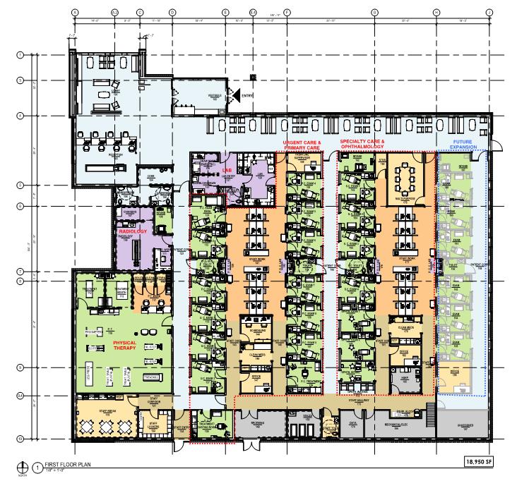 Floor and room design.