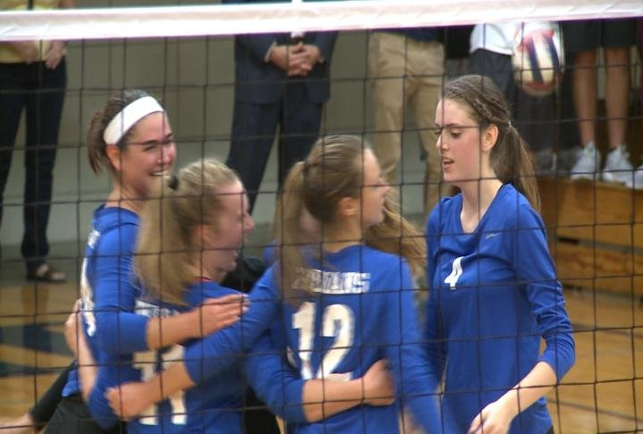 Payson improved to 14-0 with a straight sets win at Quincy Notre Dame.