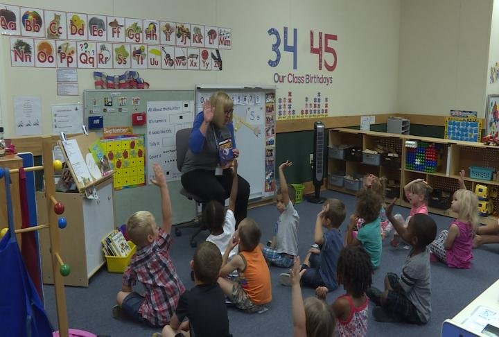 Little Read event at Early Childhood Center