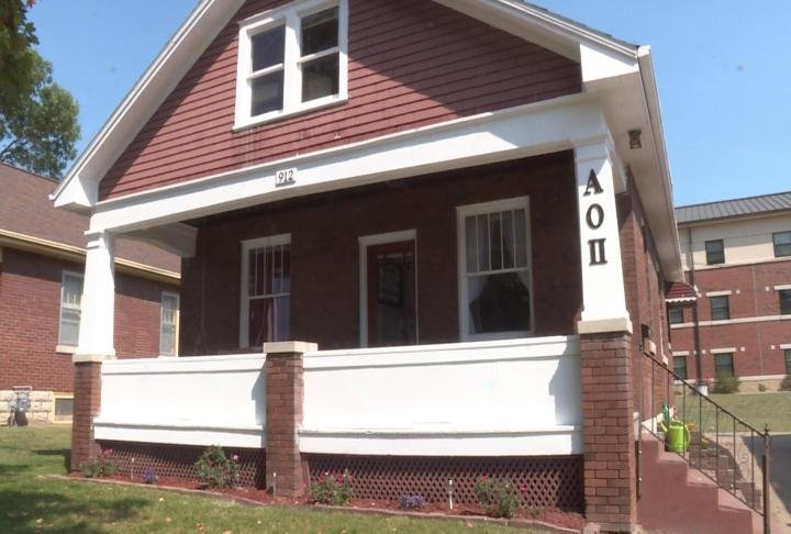 Alpha Omicron Pi remodeled this home.
