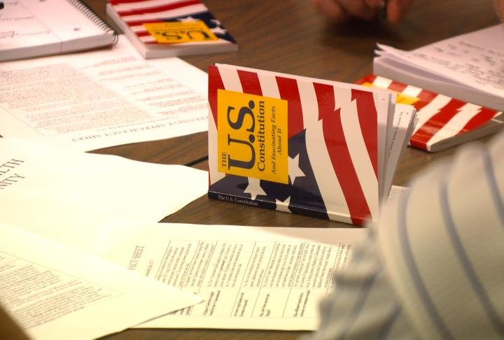 QU celebrated the formation and signing of the U.S. Constitution.