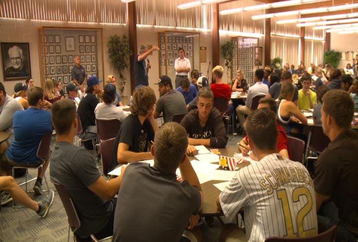 Students talked and debated about freedom of speech on college campuses