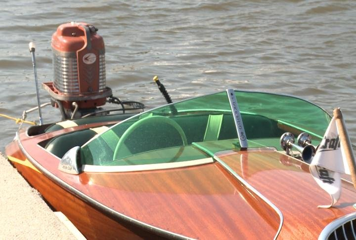 Boats from the 1930s through the 1970s were present.