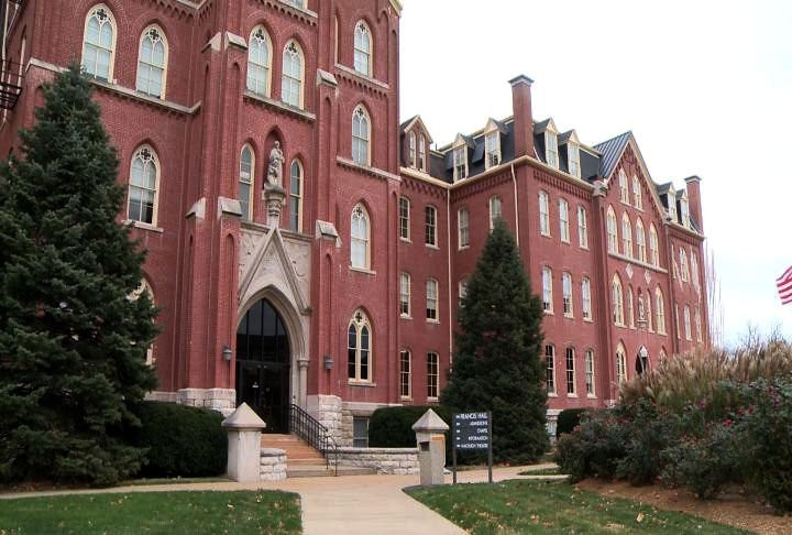 St. Francis Hall on the main Quincy University campus.