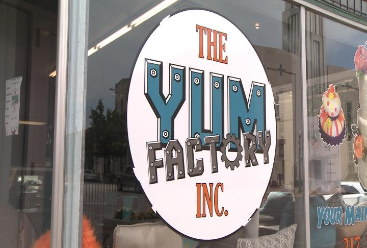 The Yum Factory was opened on Thursday