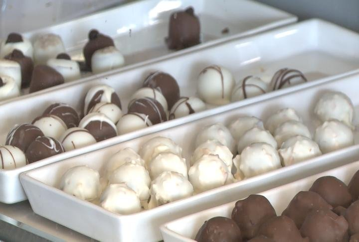 Chocolates will be made by Melanie Aitkens