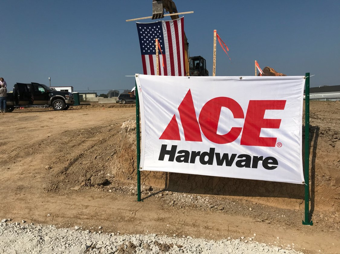 The site of the new Ace Hardware in Pittsfield
