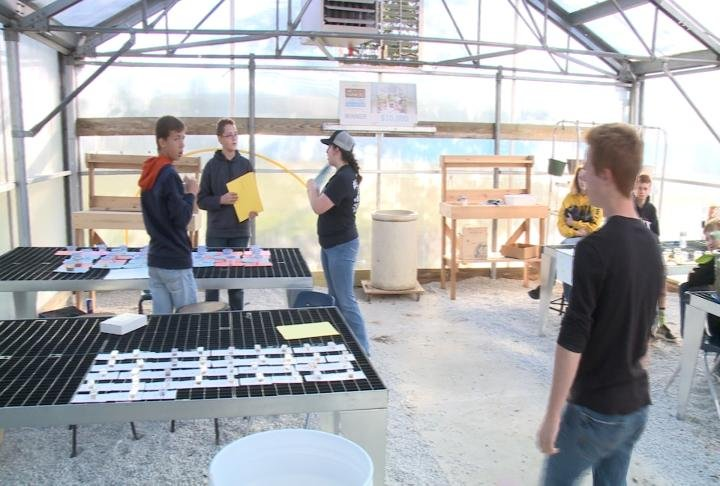 Students learned the importance of agriculture.