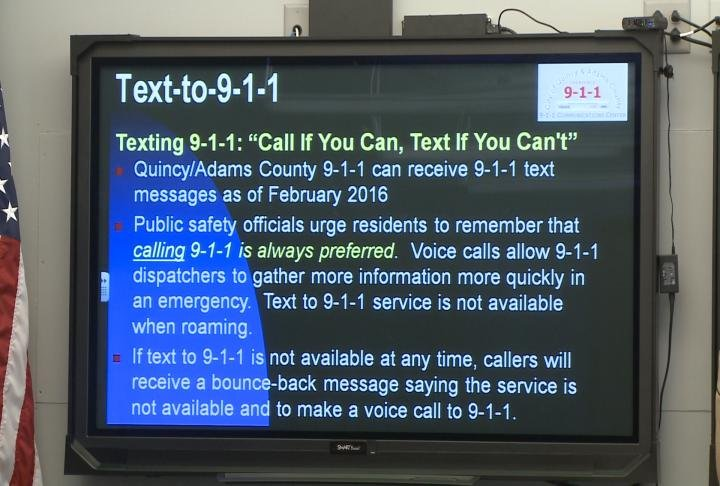 Members of the Deaf Community have the ability to text 911 in case of an emergency.