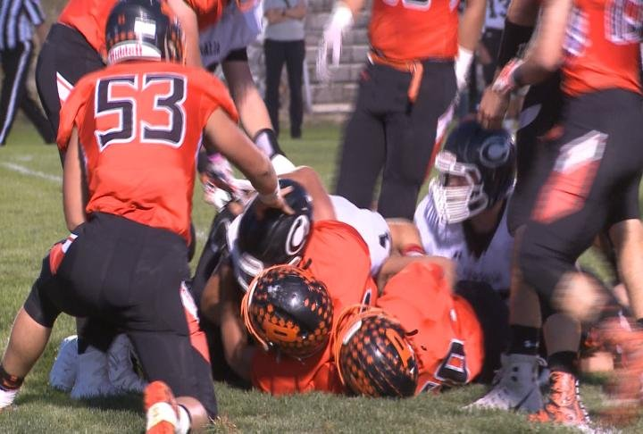 Palmyra earned its sixth straight win with a one-sided 35-0 victory vs. Centralia.