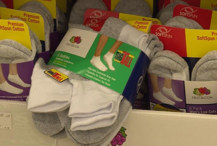 You can drop off socks to any State Street Bank location until the end of October.
