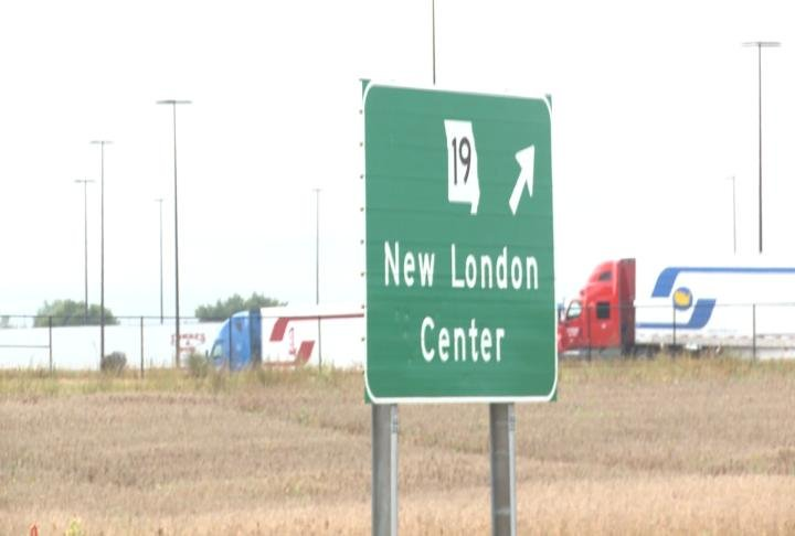 Highway 19 to Fifth St. in New London has already been annexed