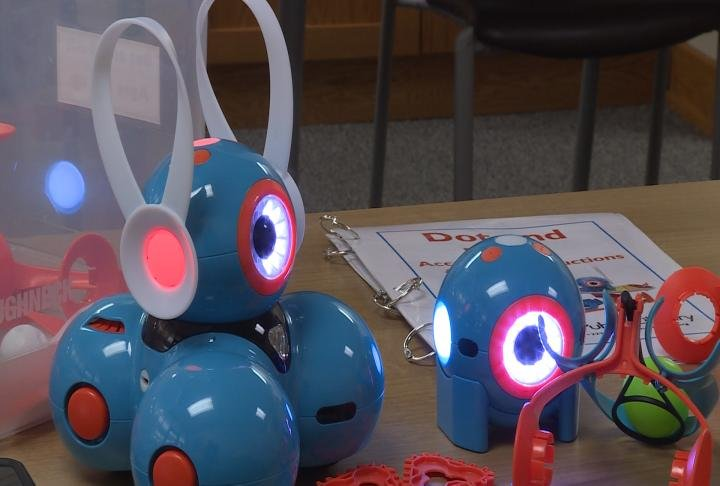 The Dot and Dash robots are for children ages 8 and up.