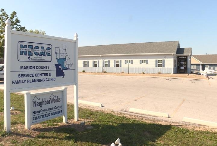 Shot of NECAC's Marion County office.
