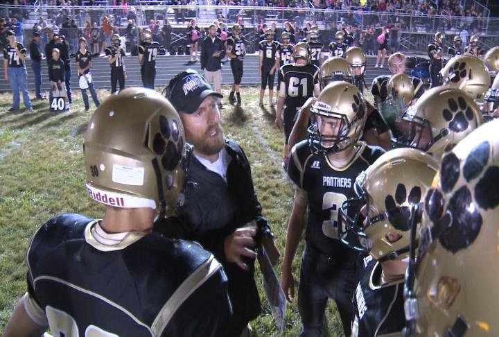Central handed Brown County its first loss with a 28-8 win in Camp Point.