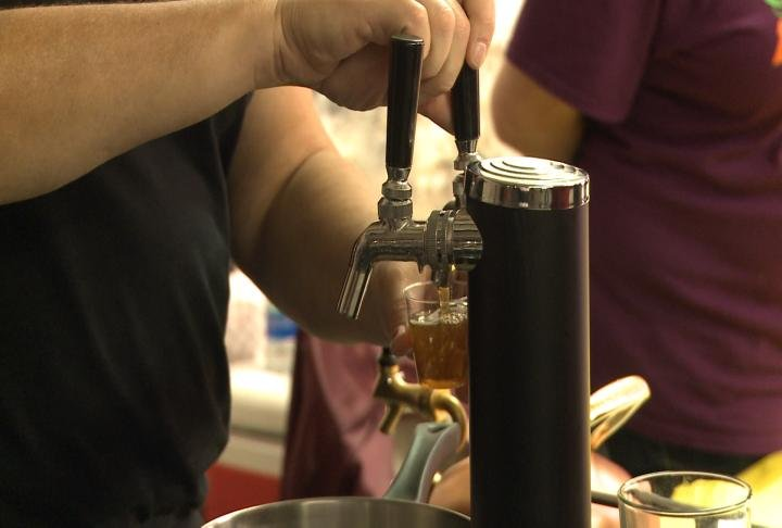 The event took place on Saturday, and featured many different beers.