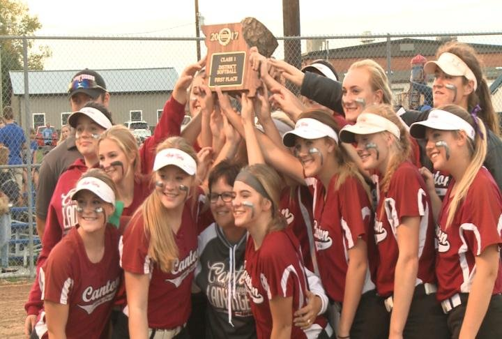 Canton beat Scotland County 6-2 to claim the Class 1 District 11 championship.