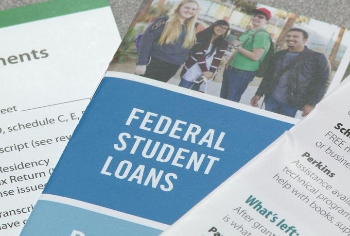 Student loan pamphlets