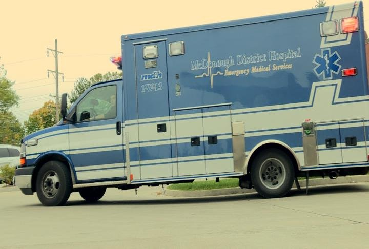 The current ambulance run by the hospital