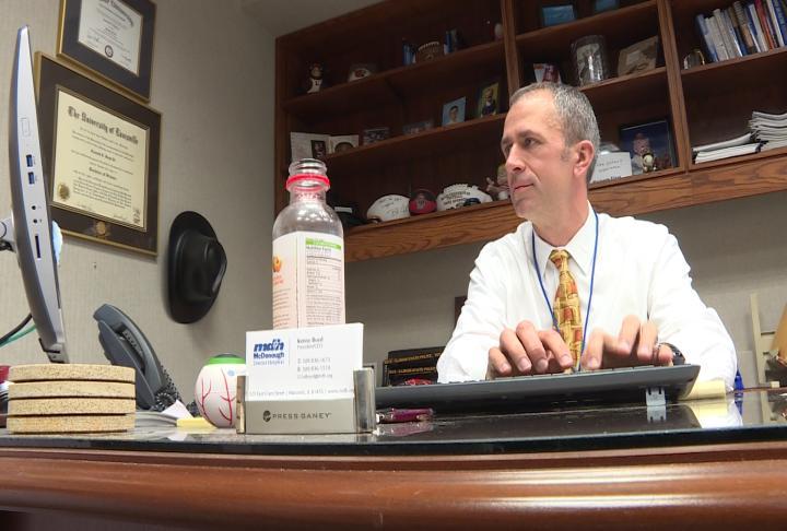 Kenny Boyd, CEO of McDonough District Hospital