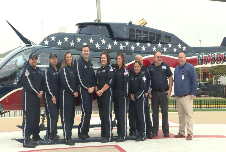 Blessing Hospital's Air Evac team celebrated their 20 year anniversary on Wednesday.