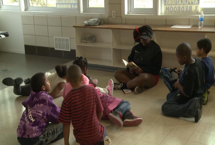 Teen REACH helps around 50 kids each day.
