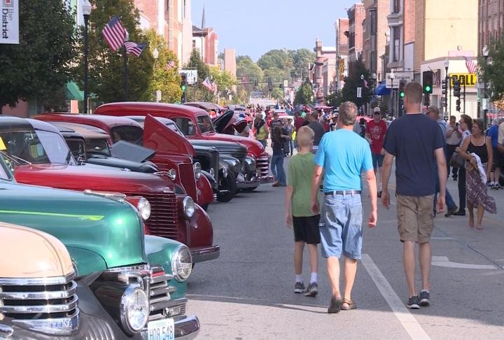 Families are encouraged to come check out these classic cars.