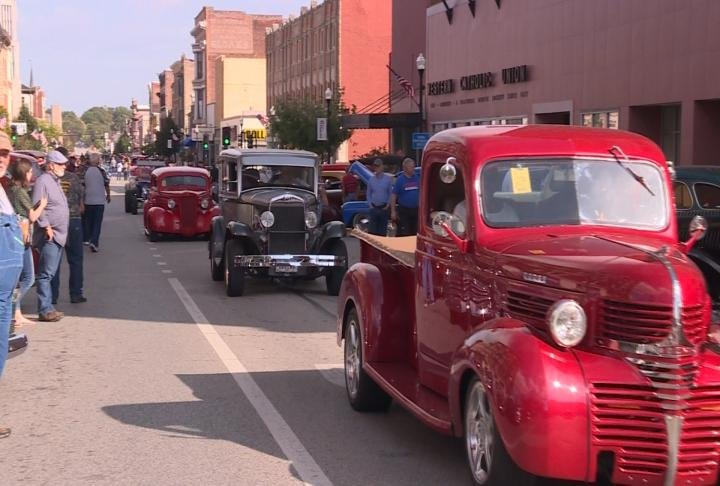 Around 900 antique cars are expected to roll into the Gem City.