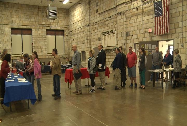 Many job seekers attended job fairs in Hannibal and Quincy on Thursday.