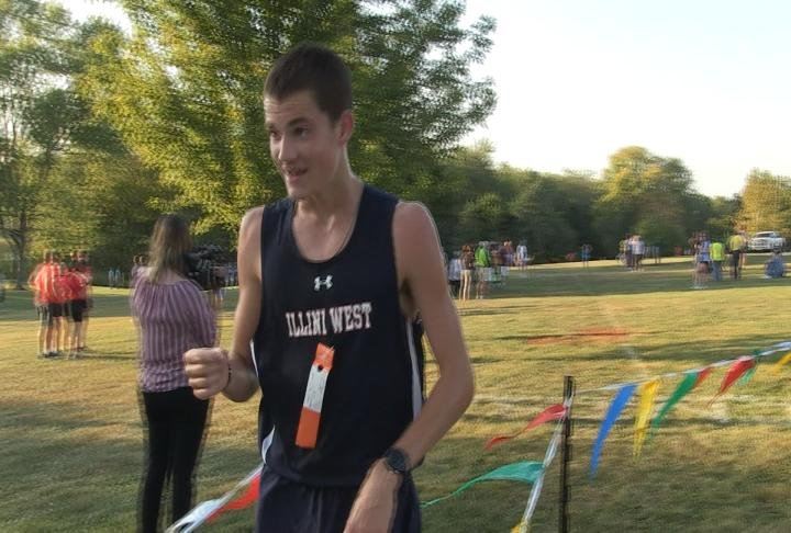Illini West's Jacob Bryan has committed to the Southern Illinois track and field program.