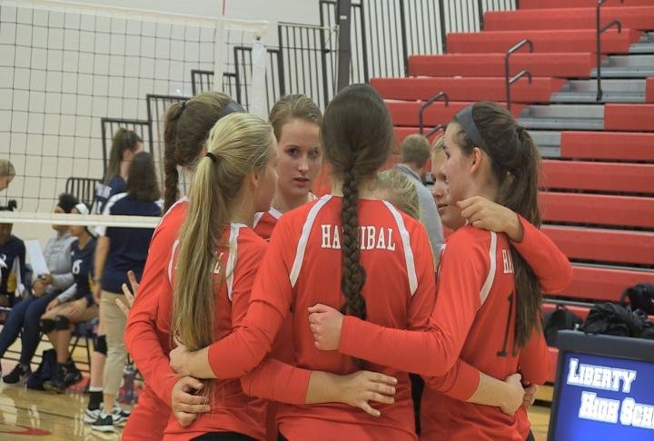 Hannibal tipped off the postseason with a district quarterfinal victory over Battle.