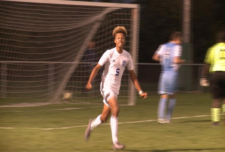Jaeden Smith scored twice to lead QHS to a regional semifinal victory in Springfield.