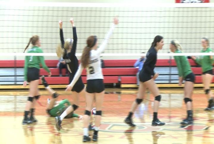 West Prairie rallies from a set down to defeat Wethersfield in the sectional semifinals.