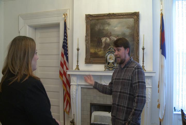 Owner of the school is talking with WGEM reporter Kaylee Pfeiferling.