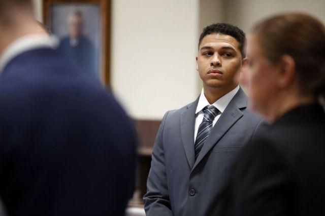 Jorge Sanders-Galvez during the trial.